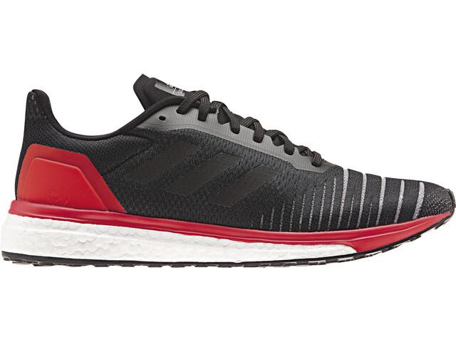 adidas SolarDrive Miehet Juoksukengät , punainen/musta